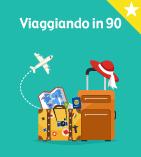 Viaggiando in 90