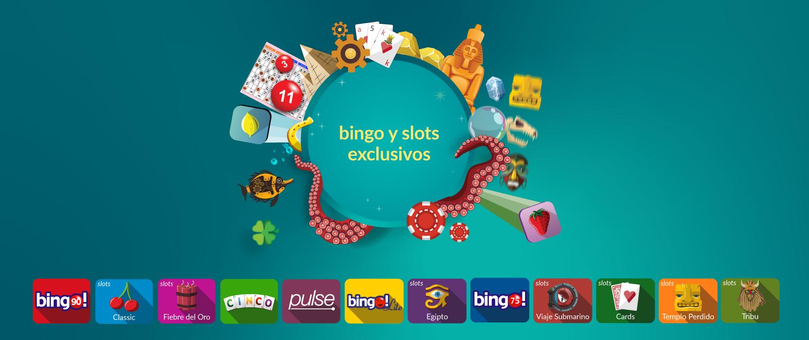 bingo online y slots exclusivos